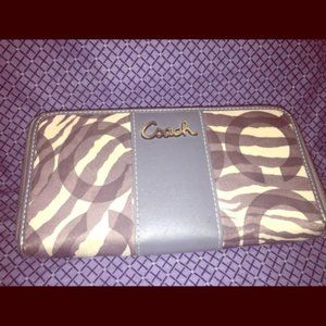 Handbags - Zebra Print Wallet